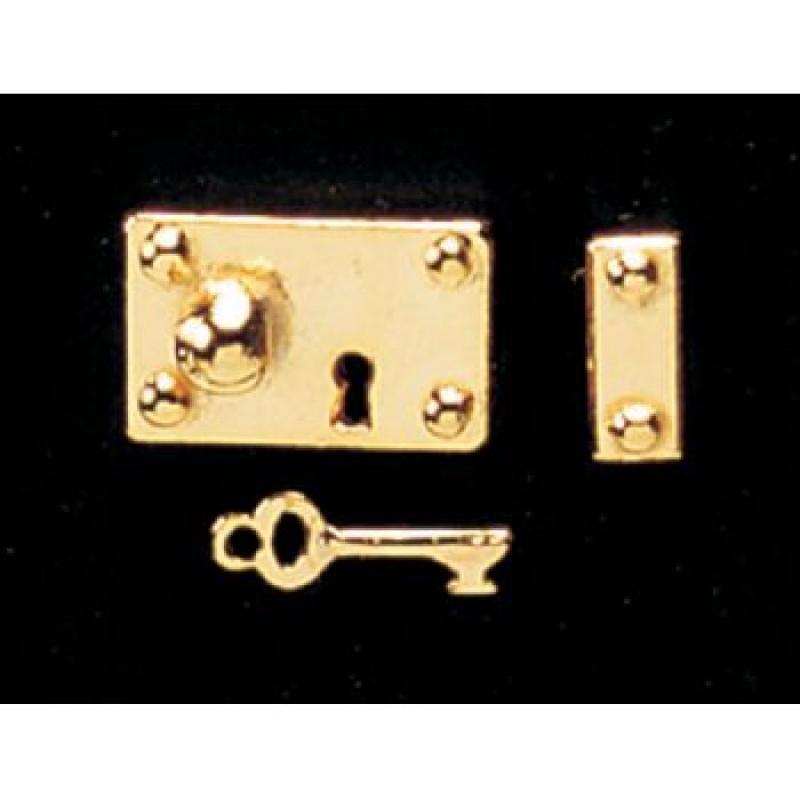 Brass Lock & Key