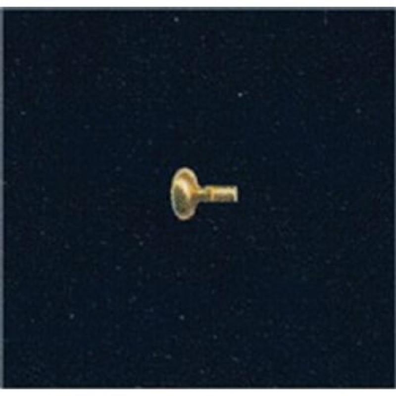 4.5mm Brass Knobs, 50 pack
