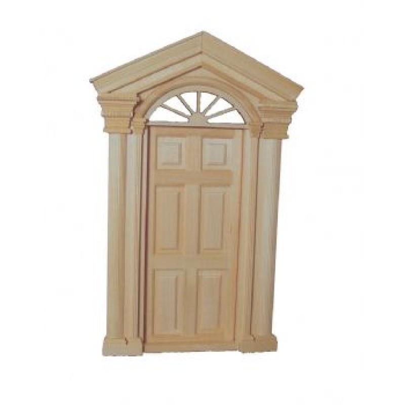 Deluxe Toplight Front Door