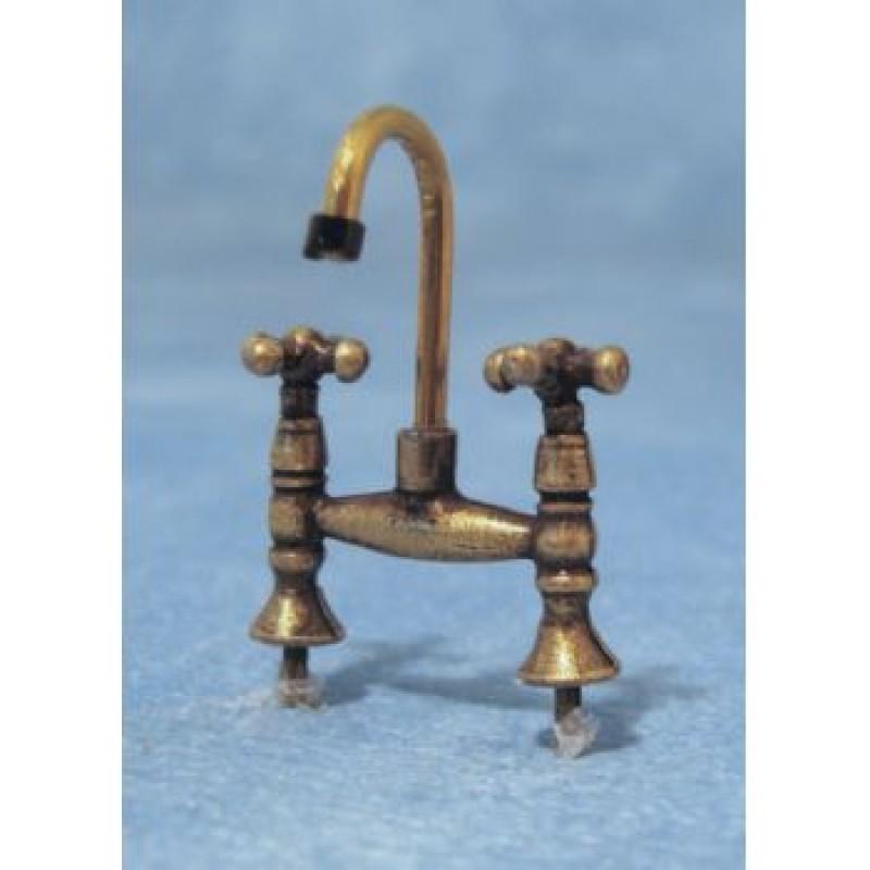 Antique Brass Mixer Tap