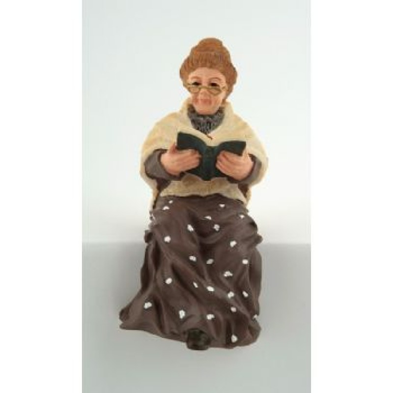 Sitting Grandmother Doll