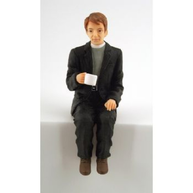 Vicar Taking Tea