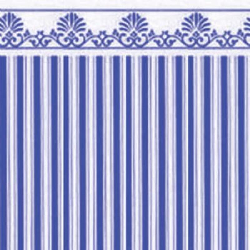 Blue / White Majestic Paper