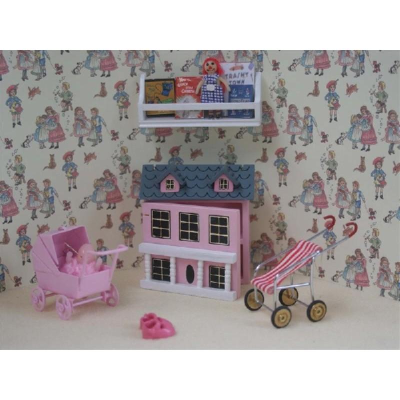 6pc Girls Pink Toys Play Set
