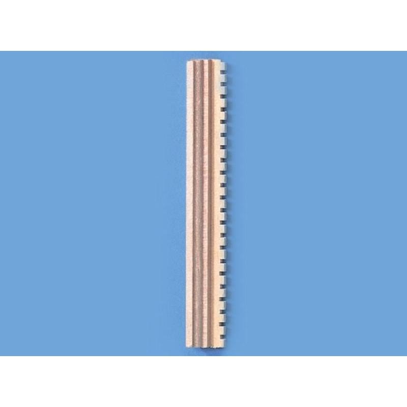 Dentil Moulding - One 24th Length
