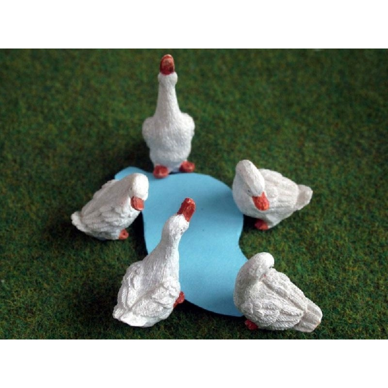 Set of 6 Geese
