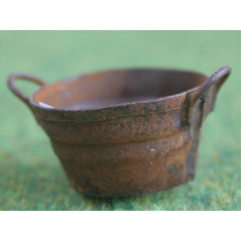 Rusty Small Round Bowl