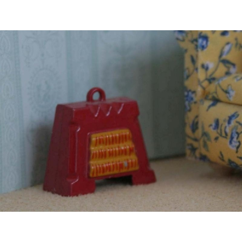 Non Working Electric Fire - Red