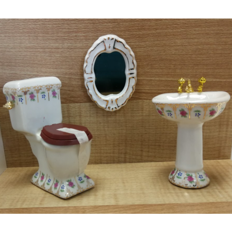 Luxury Victorian Bathroom, 4 pcs