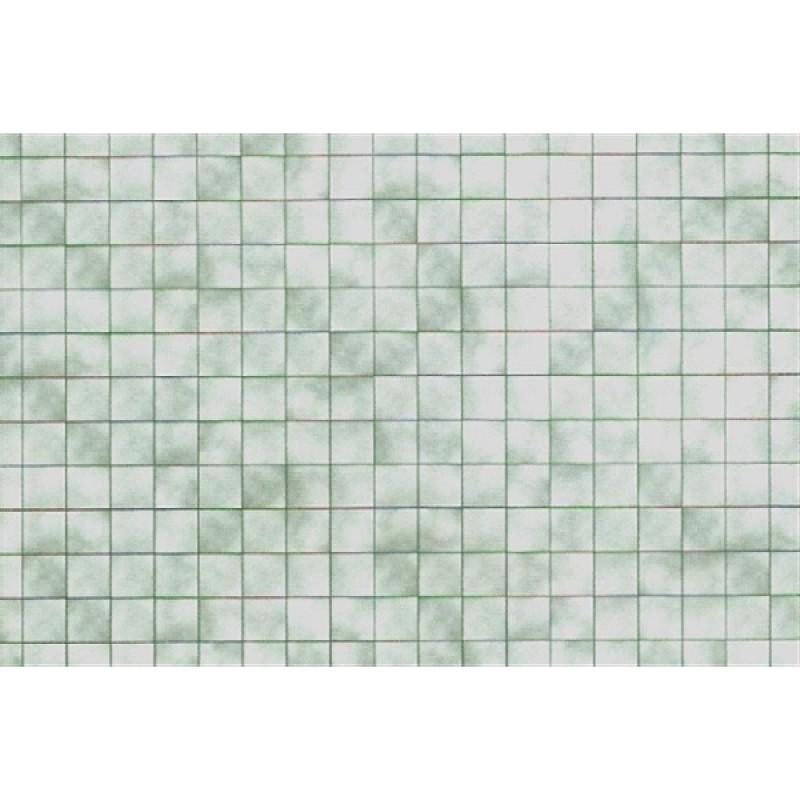 Green Tiles Wallpaper