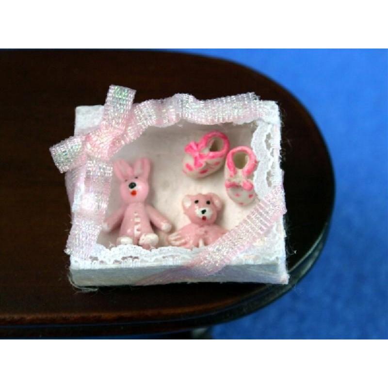 Pink Baby Gift Box