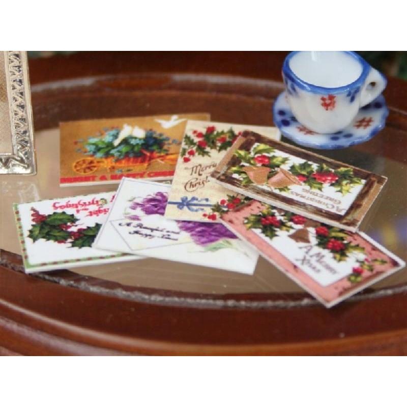 Victorian Postcards, Set of 6