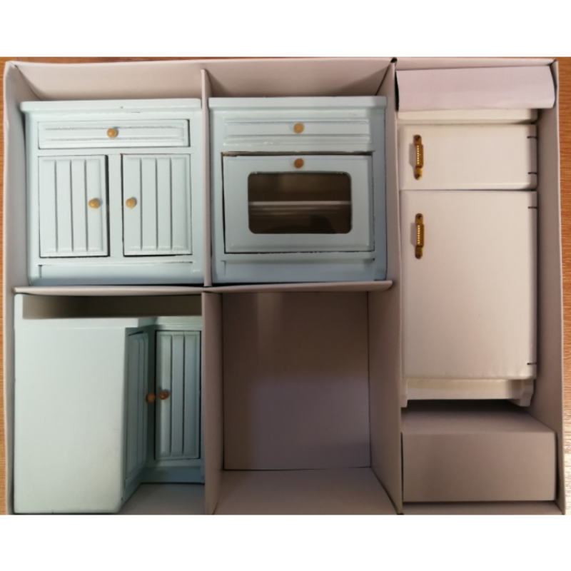 Fitted Kitchen Set, 5pcs