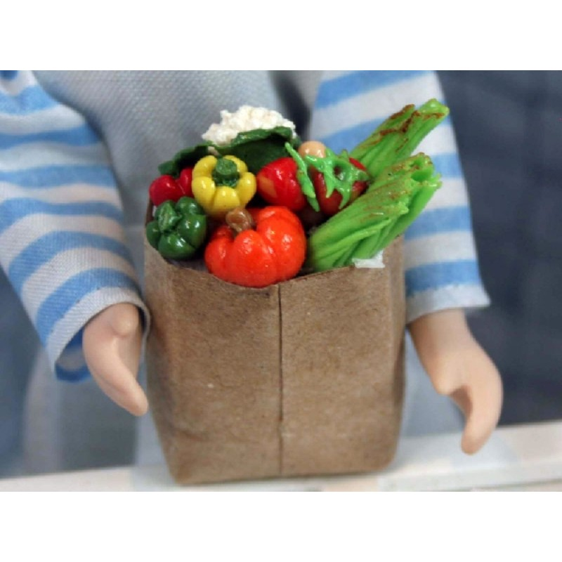 Peppers& Veg in Big Shopping Bags