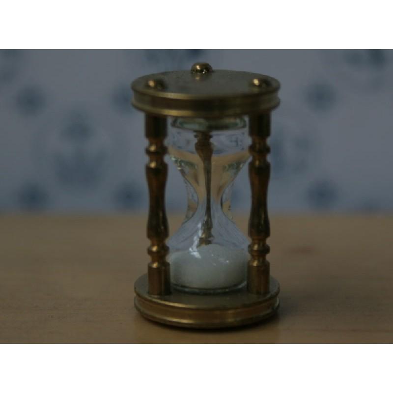 The Wonham Collection- Brass Hourglass - KA298