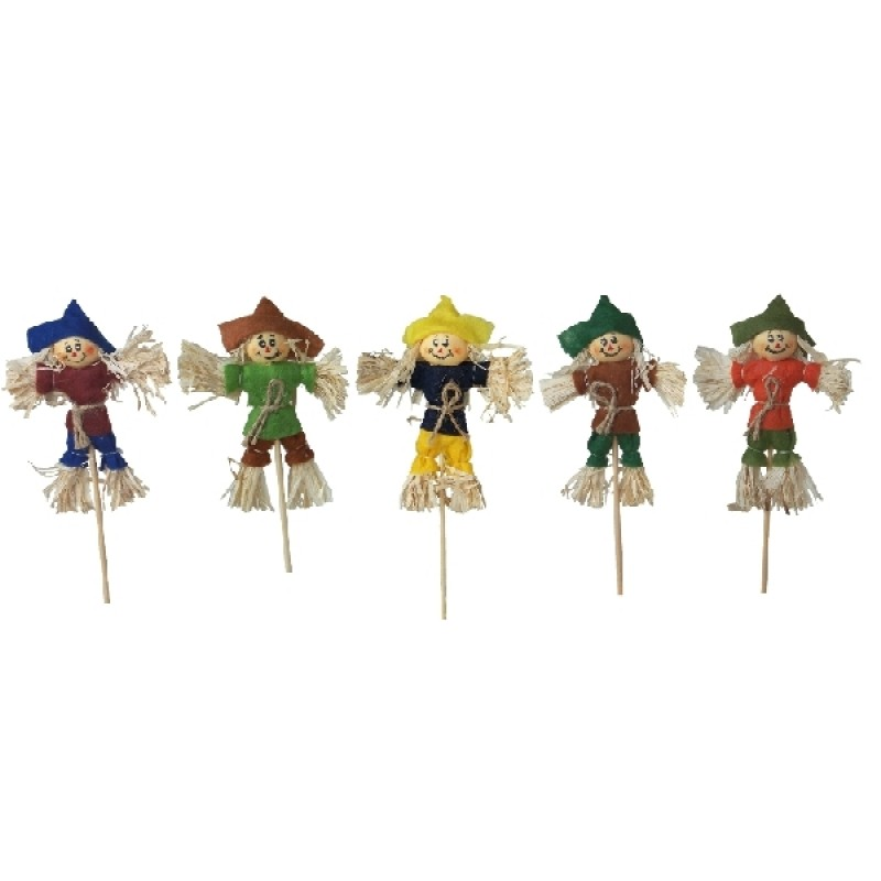 Jolly Scarecrows Assorted, 1pc