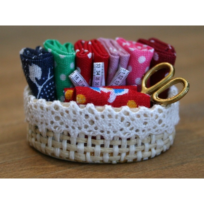 Needlework Basket