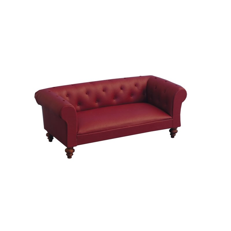 Classic Red Chesterfield