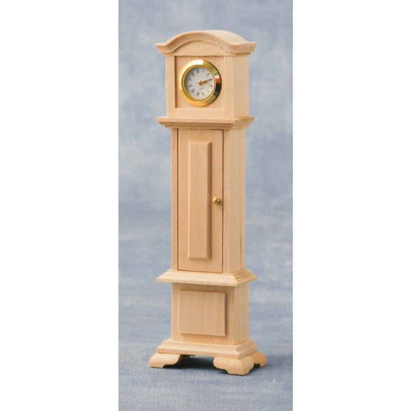 Unpainted Grandfather Clock