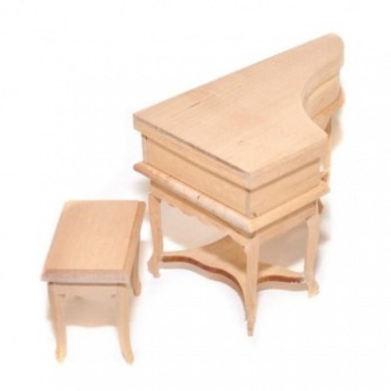 Bare Essentials Piano & Stool