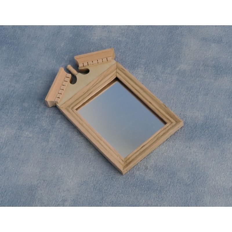 Bare Essentials Pediment Top Mirror