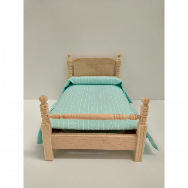 Bare Essentials Single Bed and Mattress