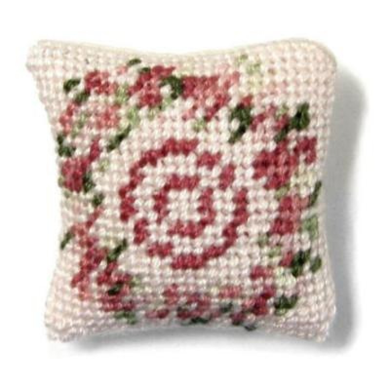Kate (pink) Dolls' House Needlepoint Cushion Kit