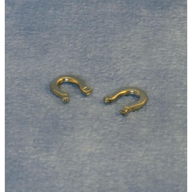Brass Horseshoes pk 2