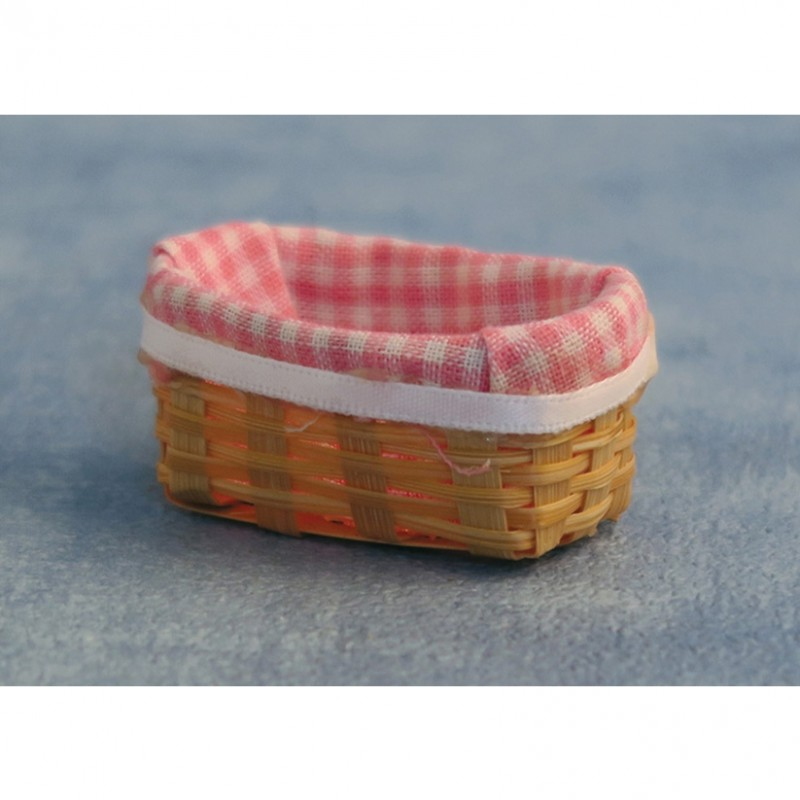 Cloth Lined Basket