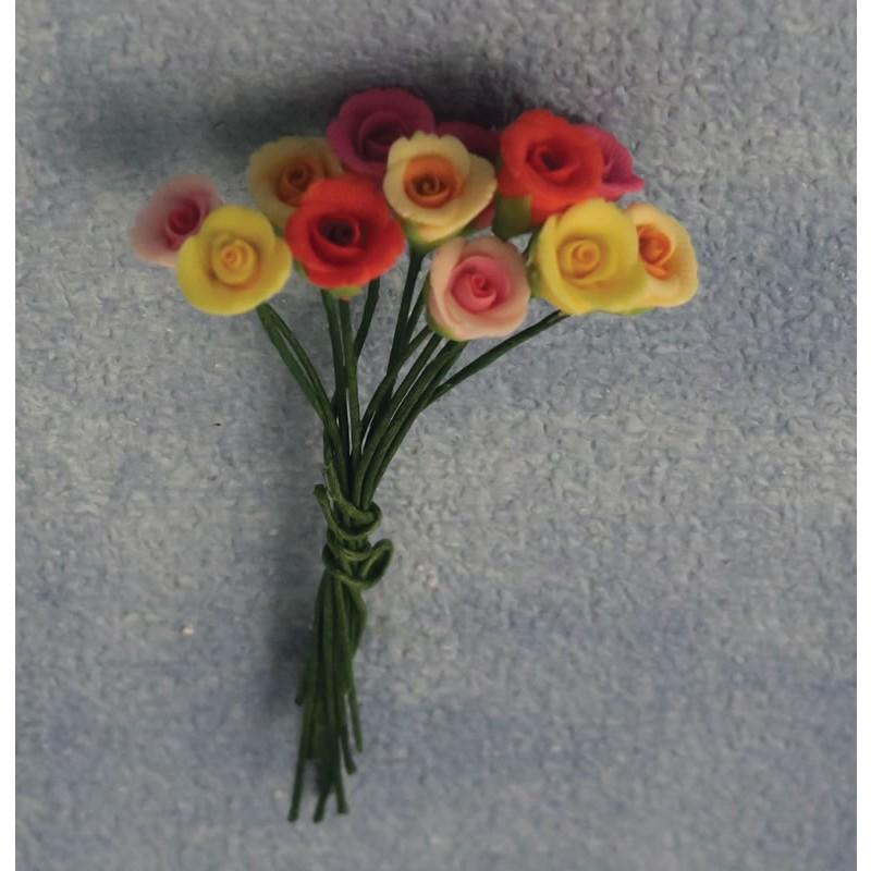Babettes Miniaturen Rose 12pc