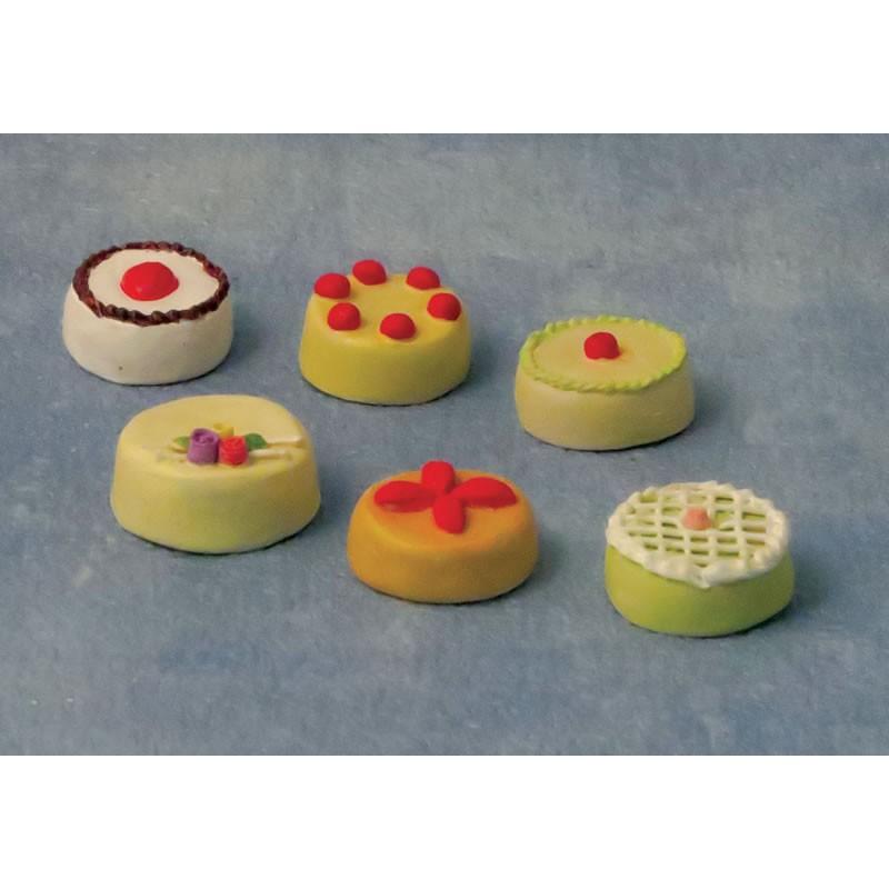Babettes Miniaturen Children's cakes pk6