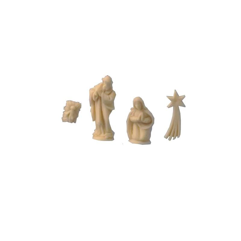 Unpainted Nativity Set Ivory