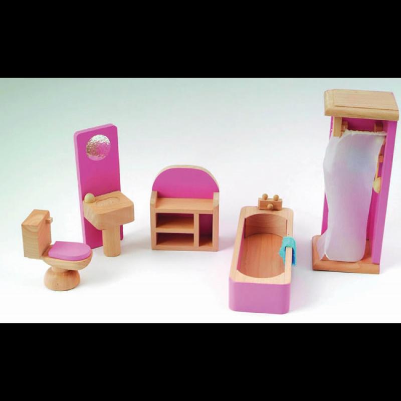 Pink Bathroom Set