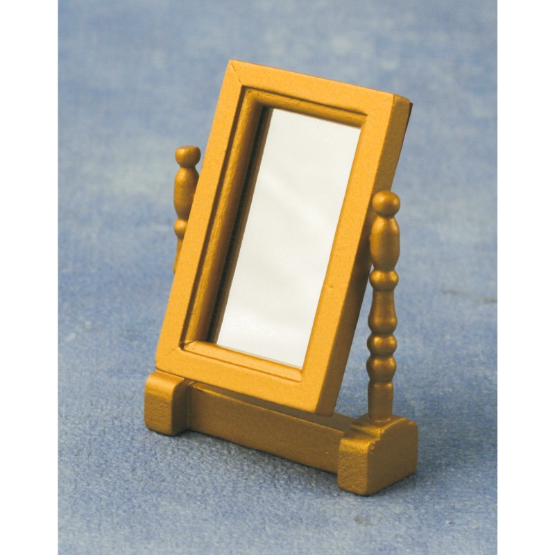 Swivel Mirror Gold