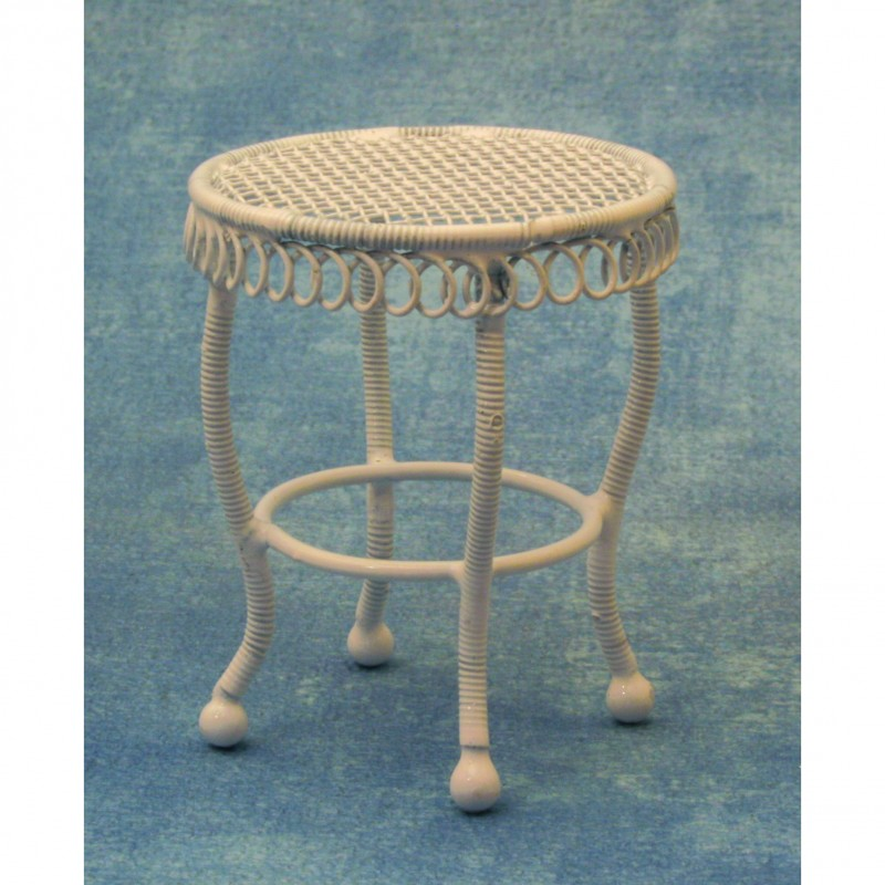 White Drinks Table