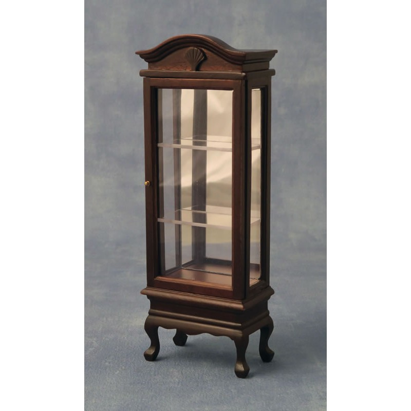 Babettes Miniaturen Display Cabinet with glass shelves