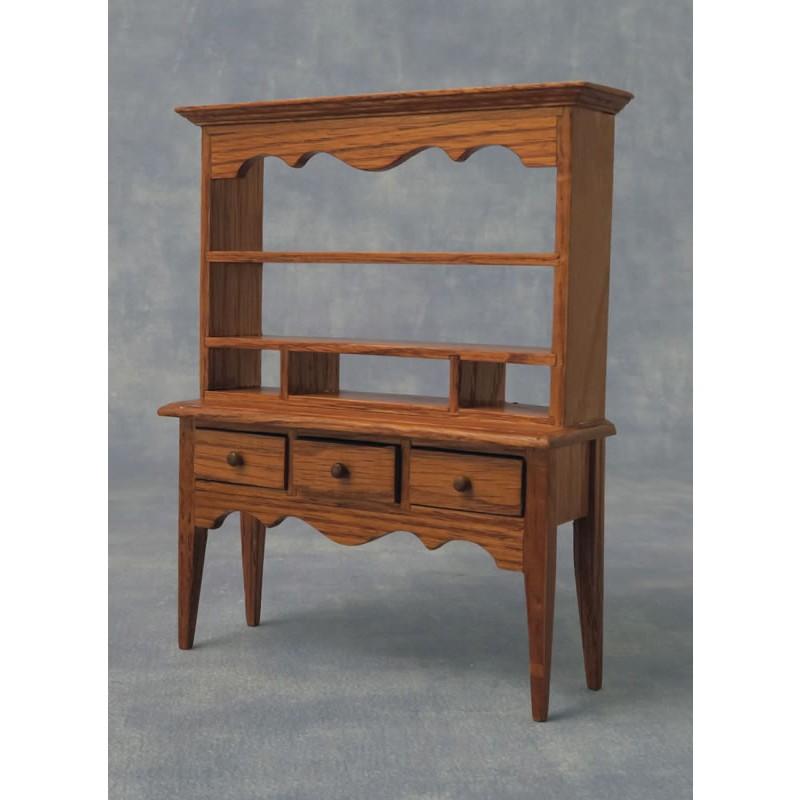 Babettes Miniaturen Oak Sideboard with drawers