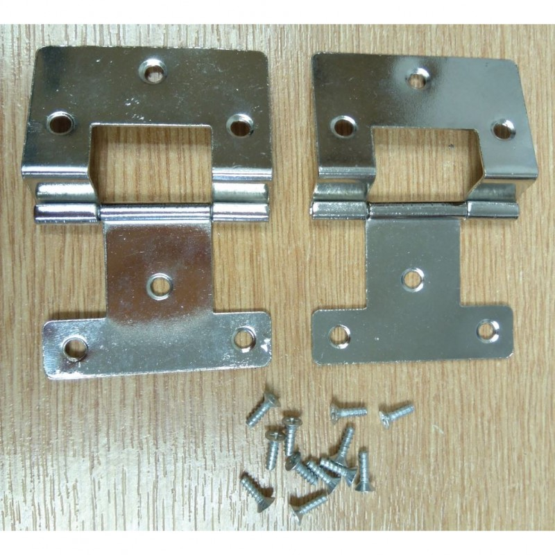 2x Corner Hinge + Screws