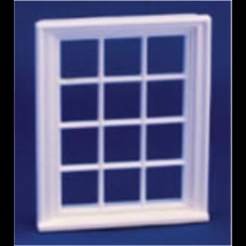 Victorian 12 Pane Window 1/24th