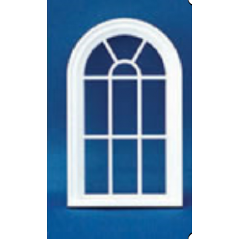 Victorian 10 Pane Window 1/24th