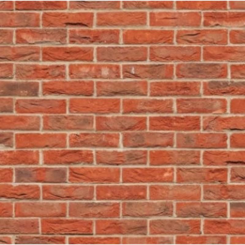 A3 Card Red Brick Stretcher Bond