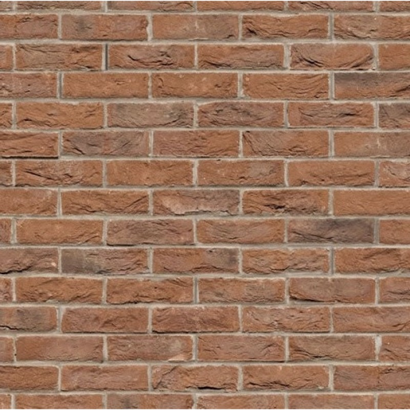 A3 Card Weathered Brick Stretcher Bond