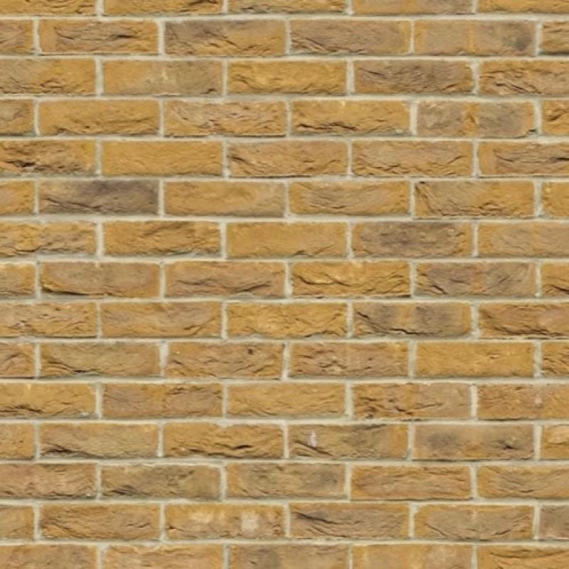 A3 Card Yellow Brick Stretcher Bond