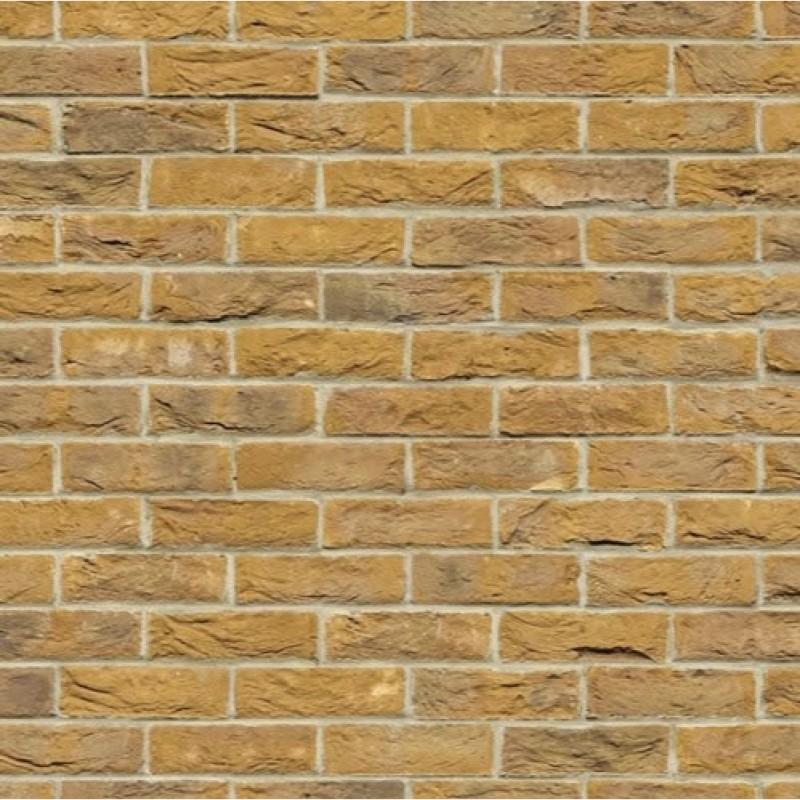 A3 Embossed Yellow Brick Stretcher Bond