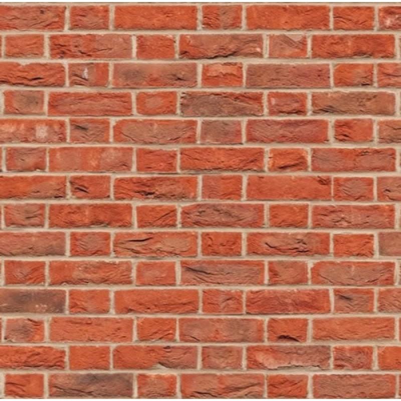 A3 Red Brick Flemish Bond Embossed