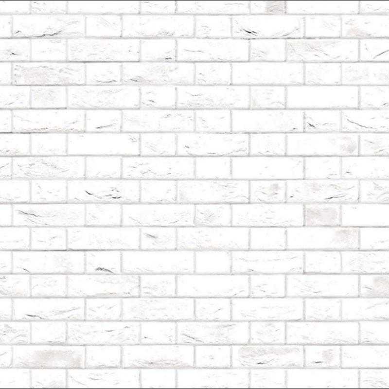 A3 Embossed White Brick Flemish Bond