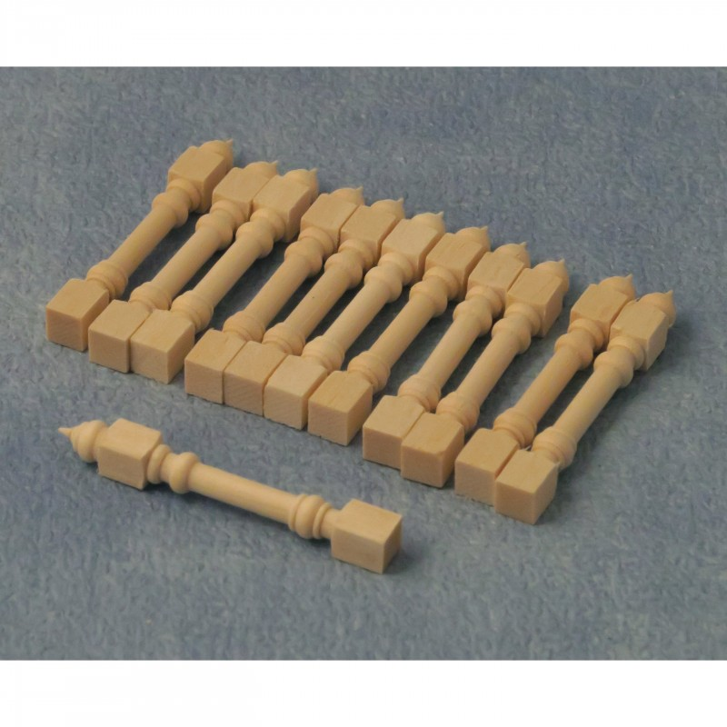 Babettes Miniaturen Wooden stick 12 pcs