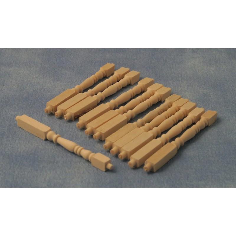 Babettes Miniaturen Railing Rod 12pc