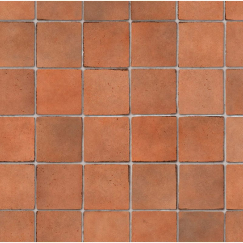Embossed Terracotta Small Tiles