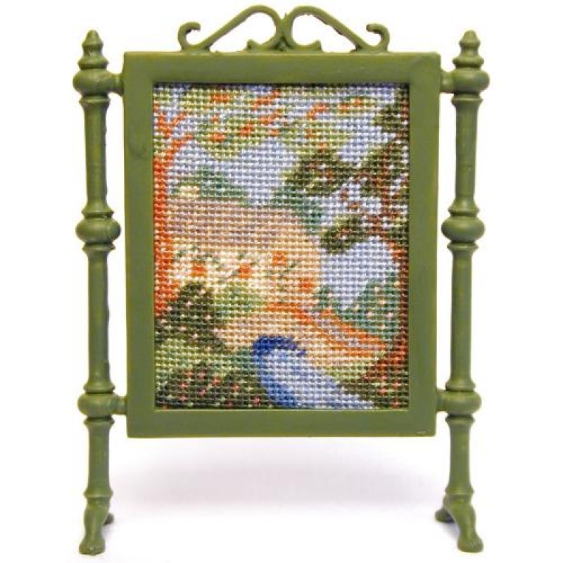 Country Cottage Dolls' House Needlepoint Firescreen Kit